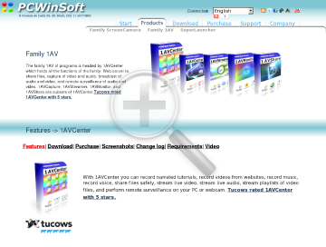 1AVCenter Full Edition preview. Click for more details