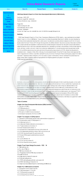 2009 Deep Research Report on China Clean Development Mechanism CDM Industry Full Version preview. Click for more details