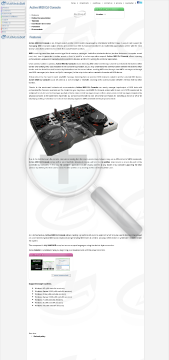 Active MIDI DJ Console Commercial Version preview. Click for more details