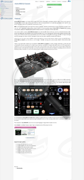 Active MIDI DJ Console for NET Commercial Version Bundle with Audio DJ Studio for NET preview. Click for more details