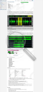 Active Sound Editor Commercial edition preview. Click for more details