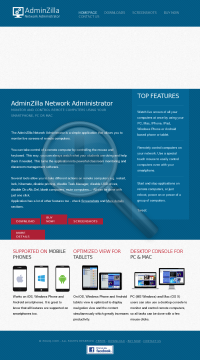 AdminZilla Network Administrator License preview. Click for more details