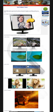 BioniX Wallpaper Changer Home private license v10 preview. Click for more details