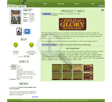 Field of Glory Battle Pack Mac Download preview. Click for more details