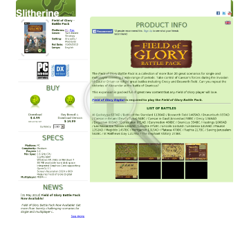 Field of Glory Battle Pack PC Download preview. Click for more details