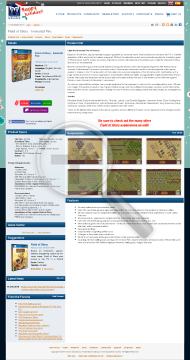 Field of Glory Immortal Fire Promo Physical with Free download preview. Click for more details