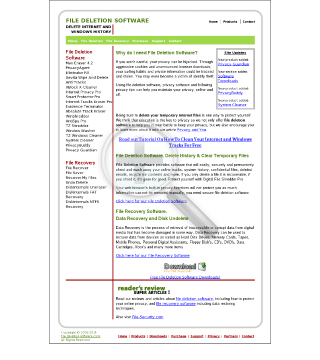 FileDeletionSoftware Full Version Unlimited Licenses Uses preview. Click for more details