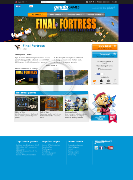 Final Fortress Windows English preview. Click for more details