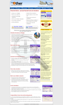 Financial Advisor Full Version preview. Click for more details