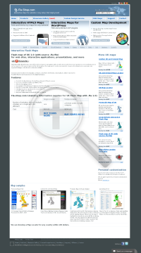 Flash Map of UK with FLA source file Single License preview. Click for more details