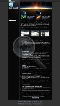 Flash Menu Labs Pro Edition Full Version preview. Click for more details