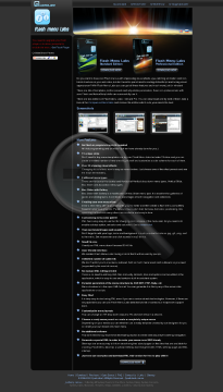 Flash Menu Labs Standard Edition Full Version preview. Click for more details
