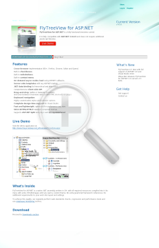 FlyTreeView for ASP NET Single Domain License preview. Click for more details