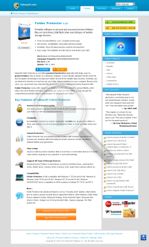 Folder Protector Enterprise Unlimited PCs Year preview. Click for more details