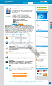 Folder Protector SingleUser License PC Year preview. Click for more details