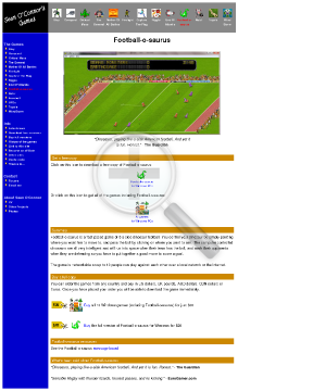 Footballosaurus Full Version preview. Click for more details