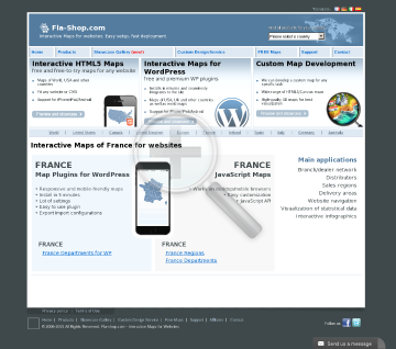 France Region Map Locator Single license preview. Click for more details