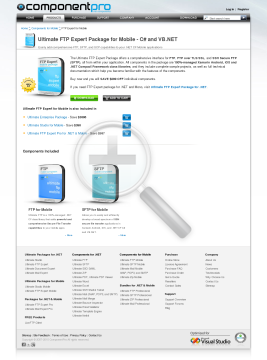 FTP Expert Package for Mobile Standard Version for Company No Source Code Lifetime Subscription preview. Click for more details