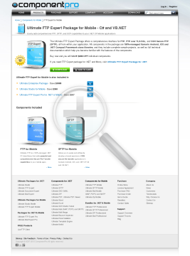 FTP Expert Package for Mobile Standard Version for Company No Source Code Year Subscription preview. Click for more details