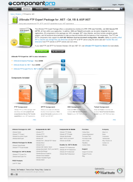 FTP Expert Package for NET Premium Version for Company With Source Code Year Subscription preview. Click for more details