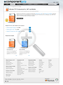 FTP Professional Bundle NET and Mobile Standard Version for Company No Source Code Year Subscription preview. Click for more details