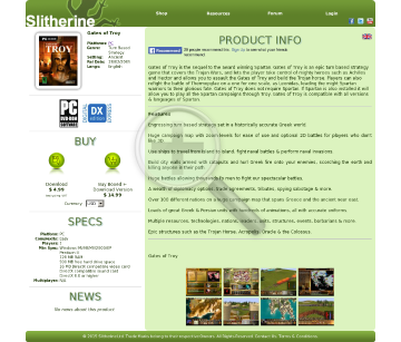 Gates of Troy PC Physical with Free Download preview. Click for more details