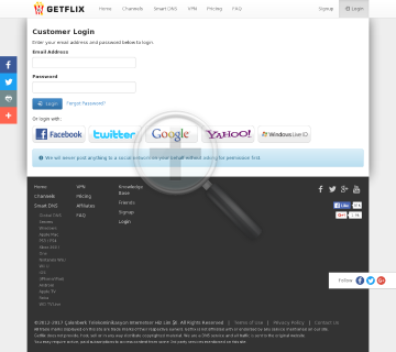 Getflix Yearly Subscription preview. Click for more details