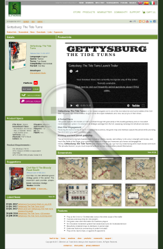 Gettysburg The Tide Turns Physical with Free download preview. Click for more details