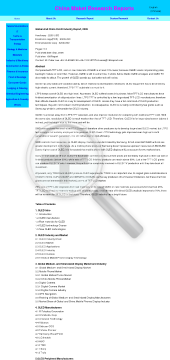 Global And China OLED Industry Report 2009 Full Version preview. Click for more details