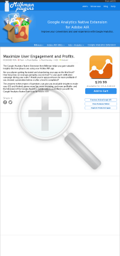 Google Analytics Extension for Adobe AIR iOS Android preview. Click for more details