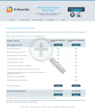 GRecorder Pro Mac OS Full Version preview. Click for more details