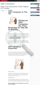 Guest Post SEO Blog at iLuvSEO com Full Version preview. Click for more details