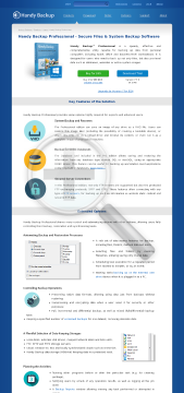HandyBackup Home Professional Full Version preview. Click for more details