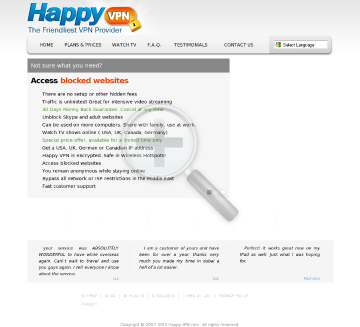 Happy VPN account Biannual Dedicated IP Happy VPN plan 124 99 months preview. Click for more details