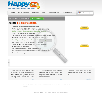 Happy VPN account Yearly Happy VPN plan discounted preview. Click for more details