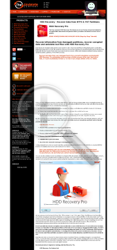 HDD Recovery Pro Standard License preview. Click for more details