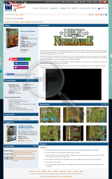 Heroes of Normandie Physical with Free download preview. Click for more details