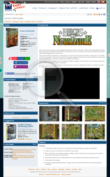 Heroes of Normandie Rangers Download preview. Click for more details