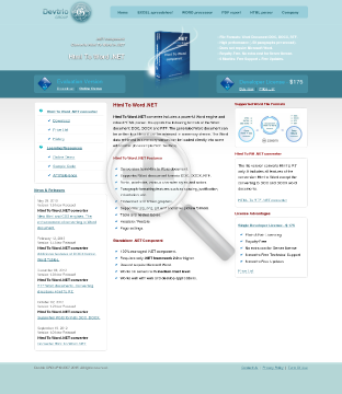 Html To Word NET Site License preview. Click for more details