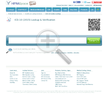 ICD9 or ICD10 Codes ICD9 Embedded Lookup DB and API preview. Click for more details