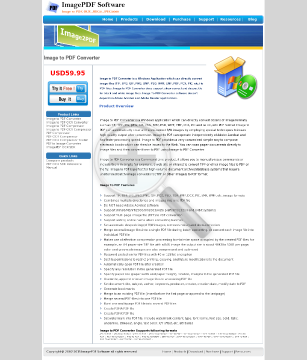 Image to PDF Converter Full Version preview. Click for more details