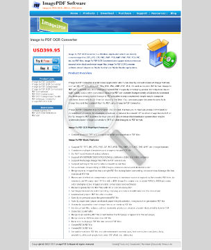 Image to PDF OCR Converter Full Version preview. Click for more details