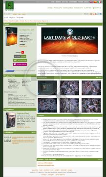 Last Days of Old Earth PC Download preview. Click for more details