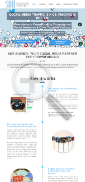 Marketing campaigns SMT Agency Full Version preview. Click for more details