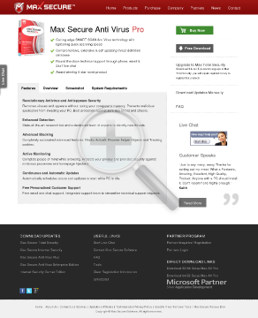 Max Secure Anti Virus Pro Full Version preview. Click for more details