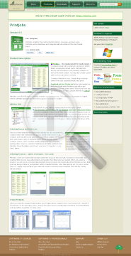 PrintJobs Product Key preview. Click for more details