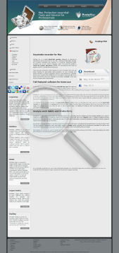 ProteMac KeyBag PRO Single License preview. Click for more details