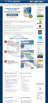 QuickPCOptimizer Year License on PCs preview. Click for more details