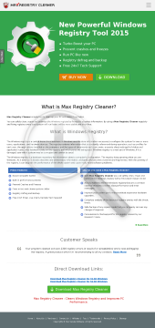Registry Cleaner promo5 preview. Click for more details
