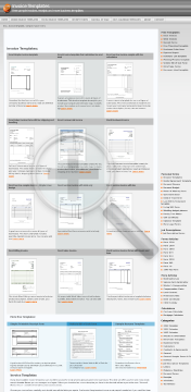 Sales invoice with tax shipping and handling Full Version preview. Click for more details
